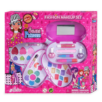 Make Up Kit Foundation Makeup Set Eye Lip Blush Tool For Children
