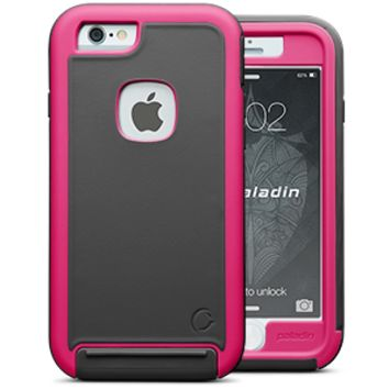 Cellairis Challenger Paladin Case for Apple iPhone 6 - Gray/Pink