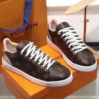 Louis Vuitton Woman Fashion Sports shoes