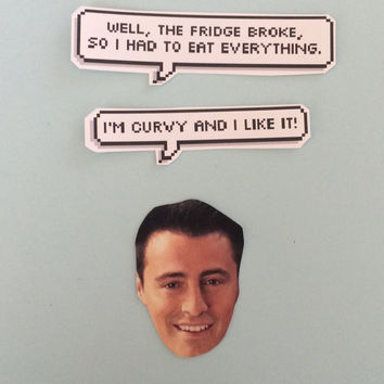 Joey Tribbiani Quotes Sticker Set