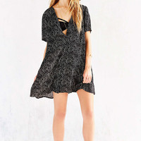 Staring At Stars Silky V Neck Trapeze Dress (Urban Outfitters)