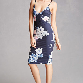 Selfie Leslie Floral Slip Dress