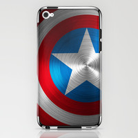 Captain America iPhone & iPod Skin by Kosept