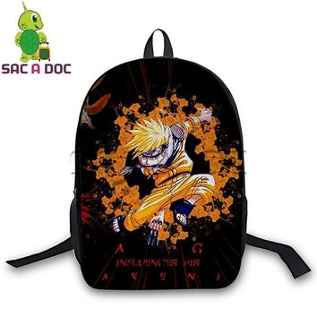 Anime Backpack School kawaii cute Naruto Backpack Teenagers Boys Girls School Backpacks Naruto Sasuke Sharingan Cosplay Backpack Women Men Travel Bagpack AT_60_4