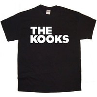THE KOOKS new black T-SHIRT sizes S - XXL