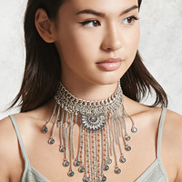 Etched Layered Choker