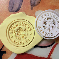 Starbucks Cookie Cutter great for cutting Bread, Cheese, Soft fruit and more