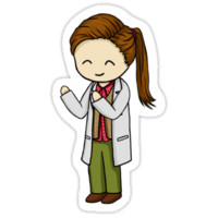 Molly Hooper Sticker