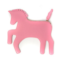 Pink Unicorn Clutch Bag