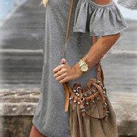 Summer in the City Dress - Gray