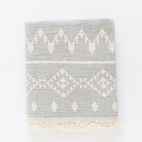 Turkish-T - Kilim Beach Towel | Gray