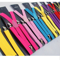 Colourful Vintage Suspenders
