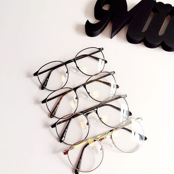 Korean Soft Vintage Rack Glasses [11405235279]