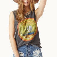 DESERT SUNSET MUSCLE TEE