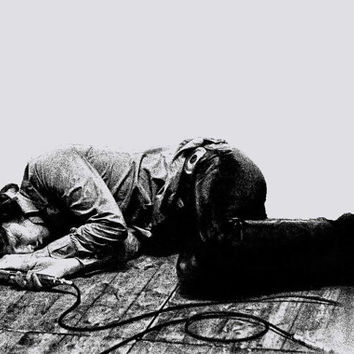 Jim Morrison Poster photo print The Doors Cool poster Concert Rock and Roll lying down on stage