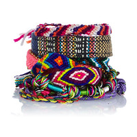 River Island Womens Pink friendship bracelets