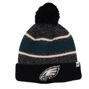DCC3W FAIRFAX CUFF KNIT HAT - EAGLES