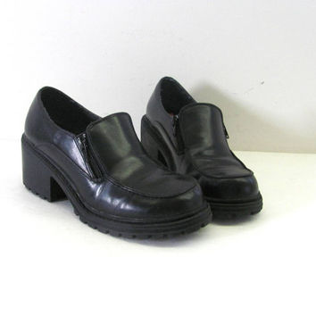 Shop Chunky Loafers For Women on Wanelo