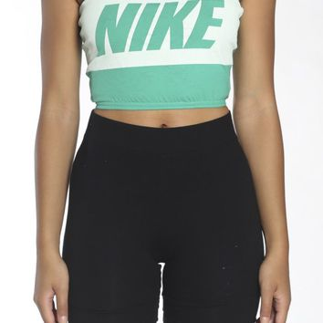 Vintage Re-Work Nike Bandeau