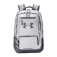 Under Armour UA Hustle Backpack II White/Graphite/Silver - Zappos.com Free Shipping BOTH Ways