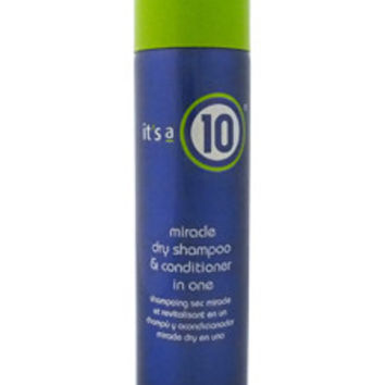 Miracle Dry Shampoo & Conditioner in One Dry Shampoo It's a 10
