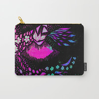 Hidden Face Carry-All Pouch by ES Creative Designs