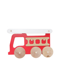 fire truck push toy - Manny and Simon