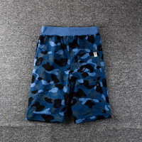 Casual Pants Summer Camouflage Print Men's Fashion Beach Shorts [10182864519]