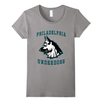 Philadelphia Underdog T Shirt Funny Football Fan Clothes