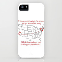 If These Sheets Were States All Time Low Lyrics iPhone & iPod Case by andrialou