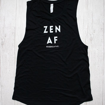ZEN AF MUSCLE GRAPHIC TEE