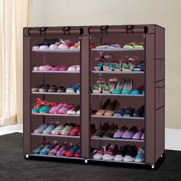 Portable Shoe Rack Closet Organizer