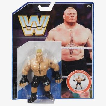 Brock Lesnar WWE Retro Wrestling Figure NIB Mattel WWF new in package