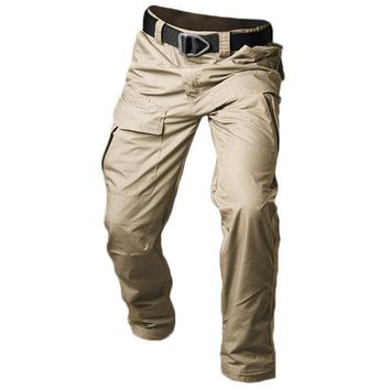 Outdoor Quick-drying Tactical Cargo Pants Military Pants