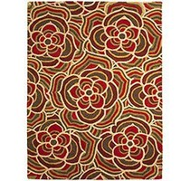 Pier 1 Imports - Product Detail - Retro Floral Tuft Rug
