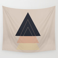 Fear of Separation Wall Tapestry by Bunhugger Design