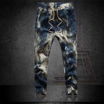 Autumn Fashion plus size 4XL Cargo Loose Trousers Men Sweat Harem Joggers Pants Hip Hop Dance Sports Pants [7901663687]