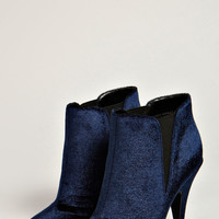Hope Velvet Touch Pointed Ankle Boot