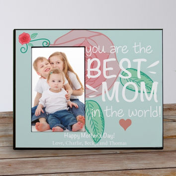 Personalized Mom Picture Frame