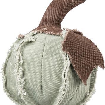 Mini Green Fabric Pumpkin
