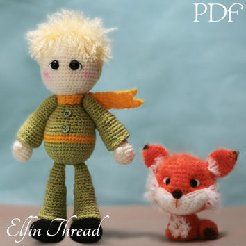 Elfin Thread - The Little Prince Amigurumi Doll PDF Pattern (The Little Prince crochet pattern)