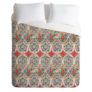 Sharon Turner Holly Duvet Cover