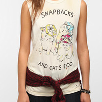 Urban Outfitters - UNIF Snapbacks Kittens Muscle Tee