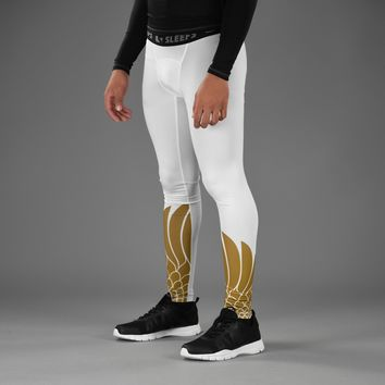 Icarus White Gold Tights for men