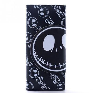 Hot Sale wallet for women creative skull pattern wallet womens luxury purses female Pocket Money Bag
