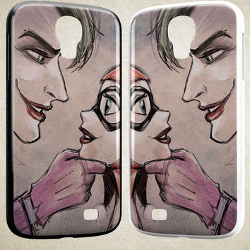 Harley Quinn Joker A1710 HTC One S X M7 M8 M9, Samsung Galaxy Note 2 3 4 S3 S4 S5 (Mini) S6 S6 Edge