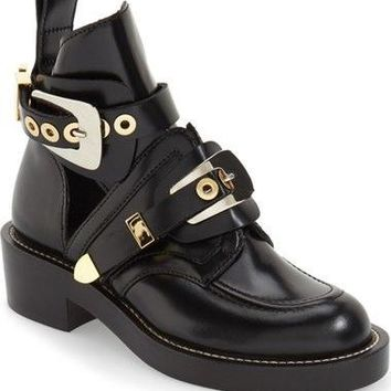 balenciaga cutout buckle boot women nordstrom 2