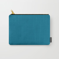 True Blue Carry-All Pouch by spaceandlines