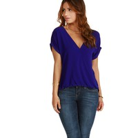 Royal Staying Out Blouse