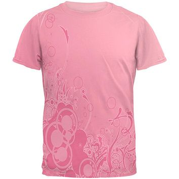 Pink Ombre Day Dream Mens T Shirt